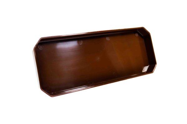 Підставка під ящик для квітів 40см коричневий