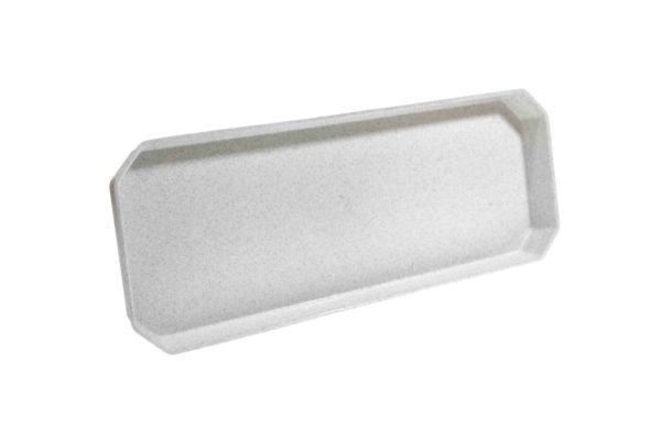 Підставка під ящик для квітів 40см білий мрамор