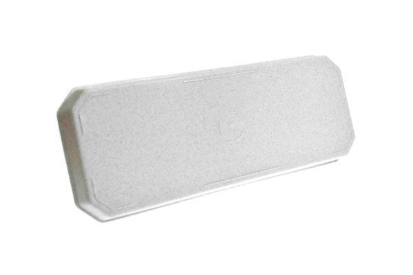 Підставка під ящик для квітів 40см білий мрамор 1