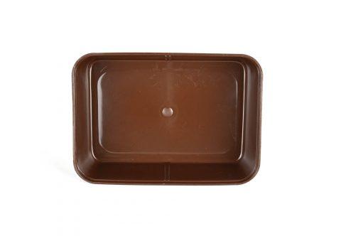 Лоток пластиковый шоколад
